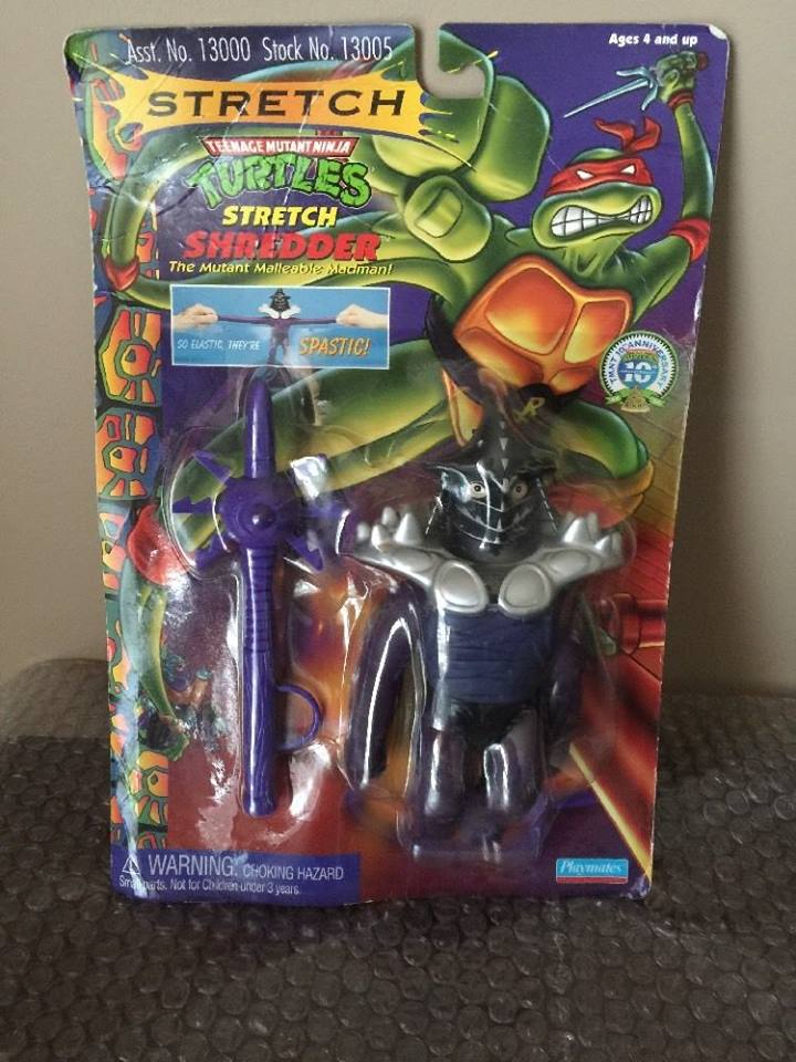 1996 Wave 9 TMNT Stretch Shredder.