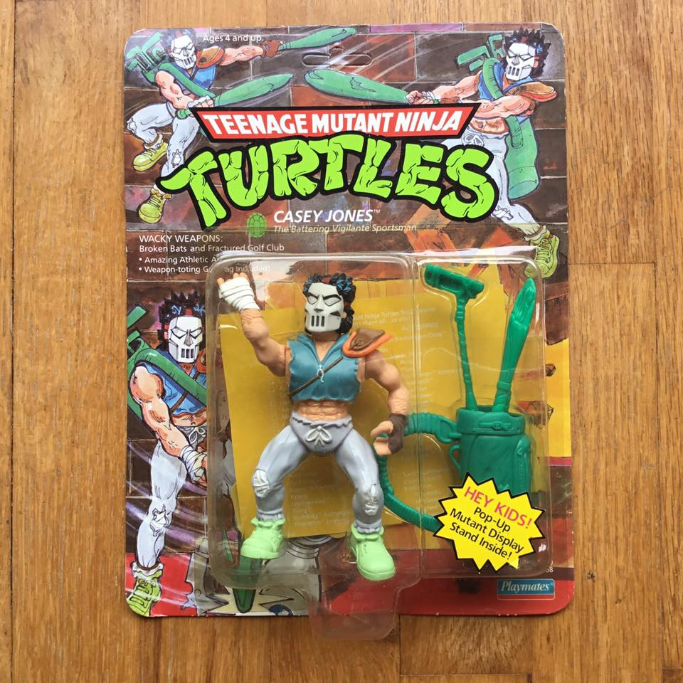 Wave 2 1989 Mega ultra super rare high value Ace Duck variant with hat off, and with pop up display mint on card, punched.