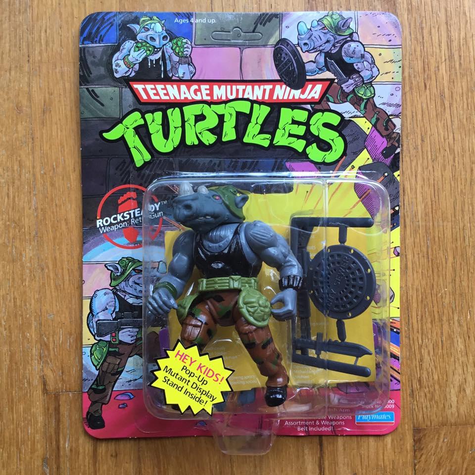 Orignal 1988 Donatello No Belt Vintage Teenage Mutant Ninja Turtles Figure